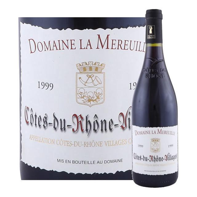 コート・デュ・ローヌ・ヴィラージュ ドメーヌ・ラ・ムルイユ 1999