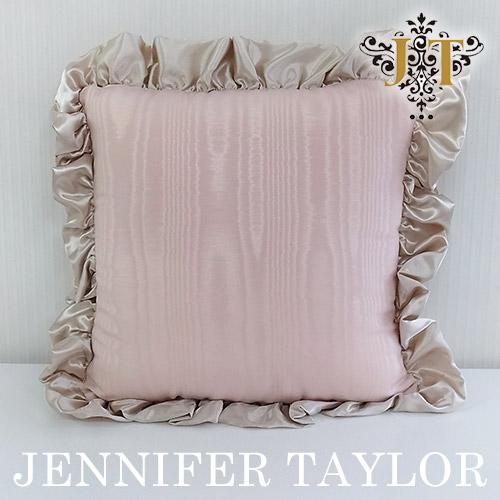 【ポイント10倍 12月】ジェニファーテイラー Jennifer Taylor フリルクッション・Chinon(PK)