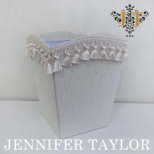 【8月限定 P10倍】ジェニファーテイラー Jennifer Taylor ダストBOX・Chinon(WH)