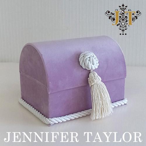 【ポイント2倍 6月】ジェニファーテイラー Jennifer Taylor トランク型BOX・Bois De Rose