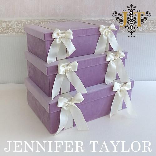 【ポイント2倍 6月】【送料無料】ジェニファーテイラー Jennifer Taylor BOX3Pセット・Bois De Rose