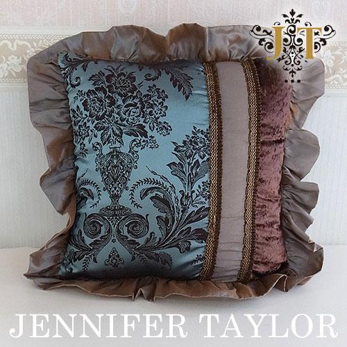 【8月限定 P10倍】ジェニファーテイラー Jennifer Taylor フリルクッション・Carlisle