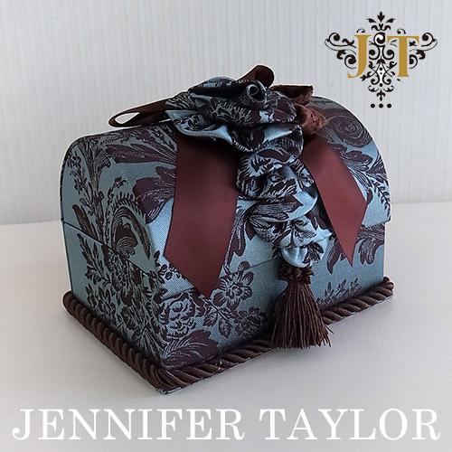 【8月限定 P10倍】ジェニファーテイラー Jennifer Taylor トランク型ボックスL・Carlisle