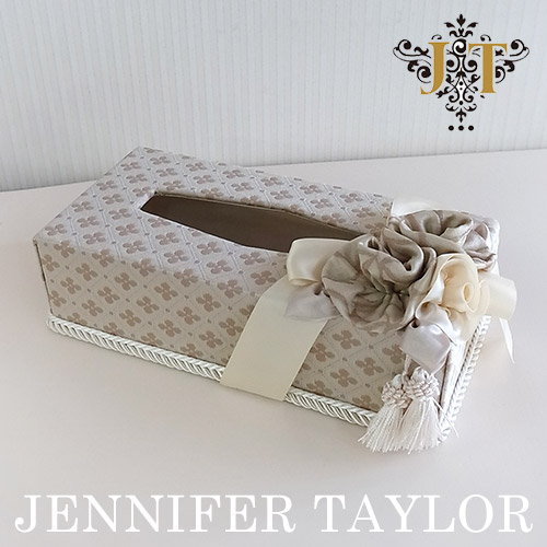 【P10倍 1/31 11:59まで】ジェニファーテイラー Jennifer Taylor ティッシュBOX・Lumina
