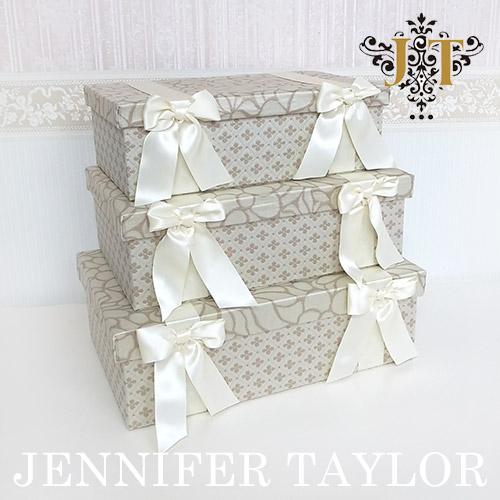 【送料無料】ジェニファーテイラー Jennifer Taylor BOX3Pセット・Lumina