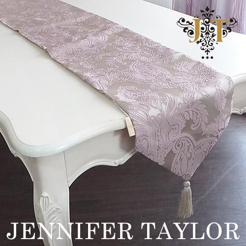 【ポイント2倍 6月】ジェニファーテイラー Jennifer Taylor テーブルランナー・Hermosa-lavender