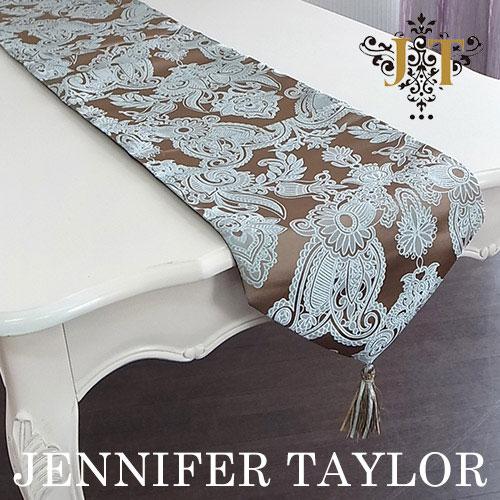 【ポイント10倍 8月】ジェニファーテイラー Jennifer Taylor テーブルランナー・Hermosa-mint