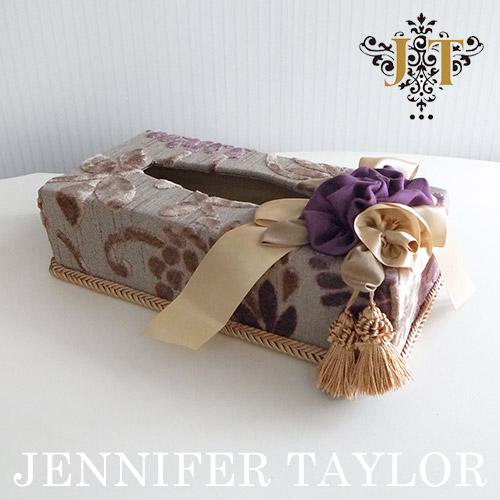 【P10倍 1/31 11:59まで】ジェニファーテイラー Jennifer Taylor ティッシュBOX・Daphne
