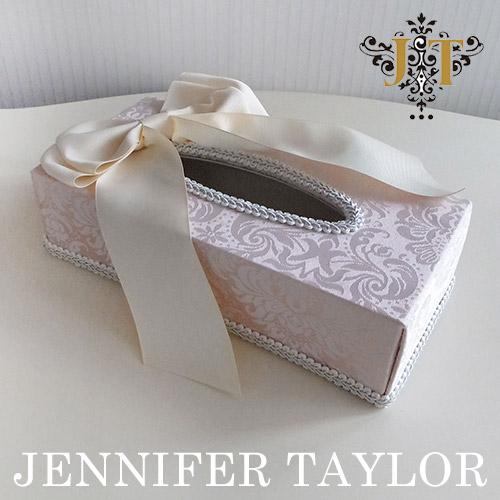 【P10倍 1/31 11:59まで】ジェニファーテイラー Jennifer Taylor ティッシュBOX・Haruno-Ribbon