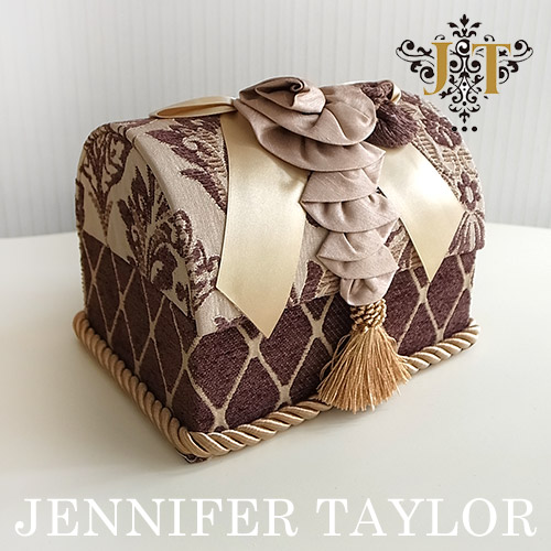 【送料無料】ジェニファーテイラー Jennifer Taylor トランク型ボックス・Broderick