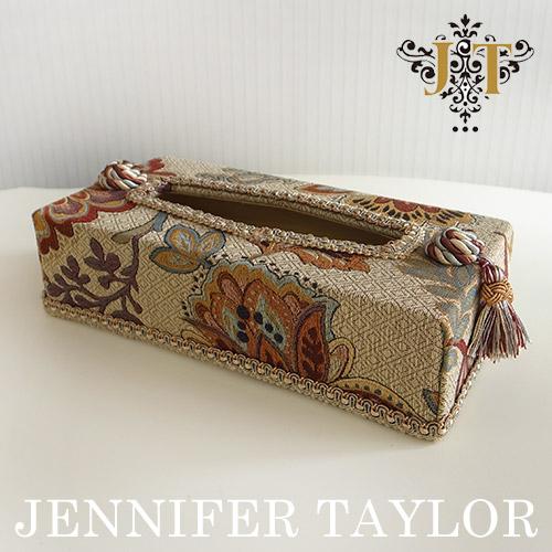 【8月限定 P10倍】ジェニファーテイラー Jennifer Taylor ティッシュBOX・Dempsey
