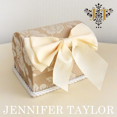 【送料無料】ジェニファーテイラー Jennifer Taylor トランク型BOX・Heirloom-Ribbon