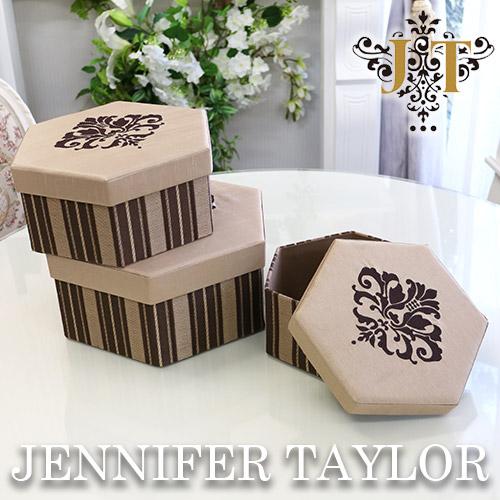【送料無料】ジェニファーテイラー Jennifer Taylor BOX3Pセット・Broderick