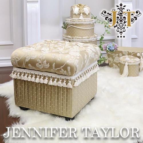 【P5倍】【送料無料】ジェニファーテイラー Jennifer Taylor 収納付スツール・Heirloom