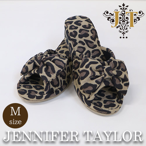【P10倍】ジェニファーテイラー Jennifer Taylor ルームシューズ(スリッパ)M・Espresso