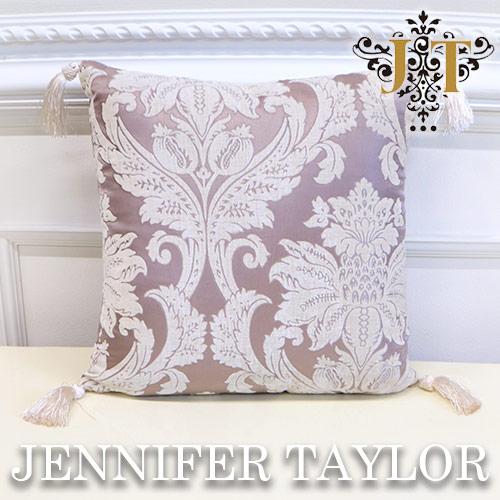 ジェニファーテイラー Jennifer Taylor フリンジクッション・Haricotrouge-RS