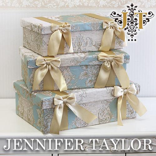 【P5倍】【送料無料】ジェニファーテイラー Jennifer Taylor BOX3Pセット Capri