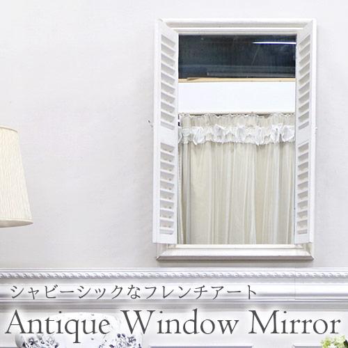 ミラー,鏡,壁掛け,窓,アンティーク