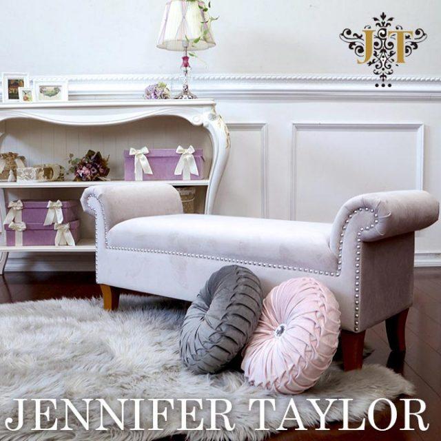 ジェニファーテイラー,ベンチ,家具,輸入家具,ベージュ
