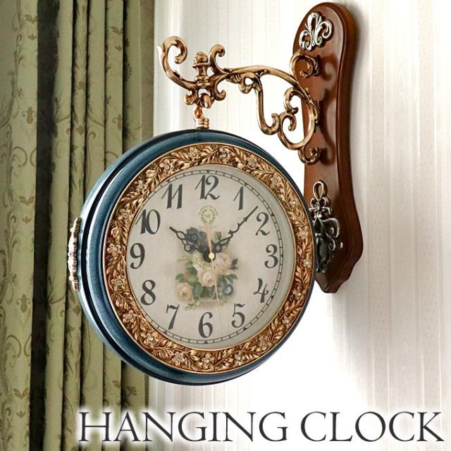 ハンギングクロック,壁掛け時計,アンティーク,ヨーロピアン,イタリアデザイン