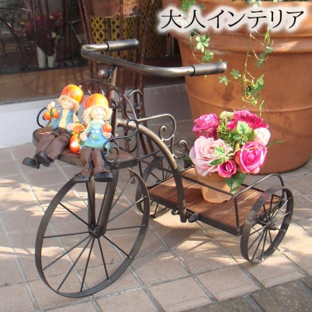 花台,プランター,ガーデニング,園芸,自転車