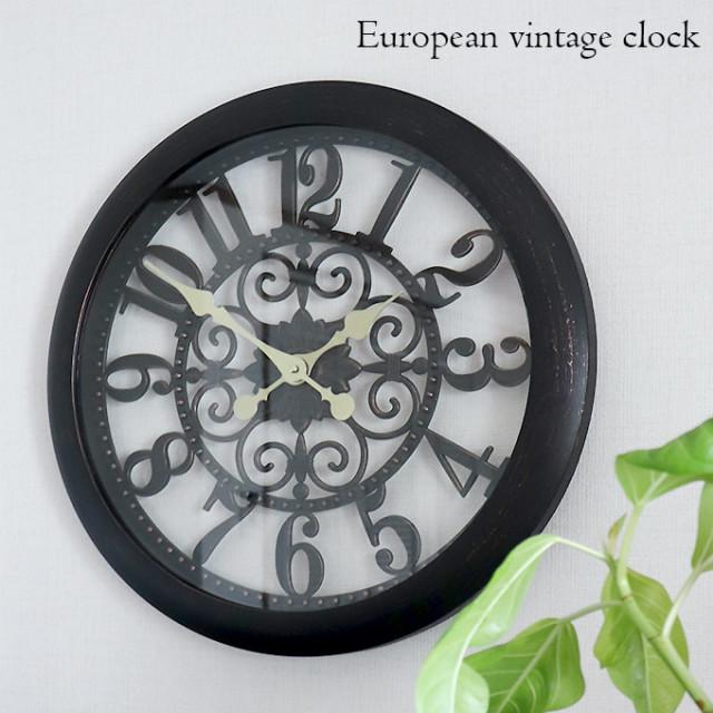 壁掛け時計,ウォールクロック,ヨーロピアン,ヴィンテージ