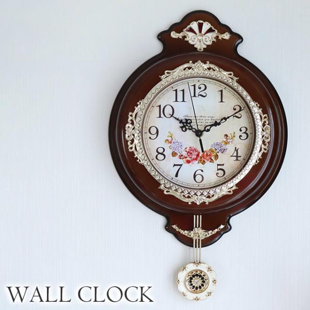 時計,振り子時計,壁掛け,ブラウン