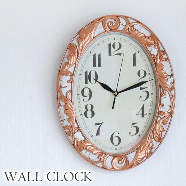時計,壁掛け時計,ロココ,ホワイト