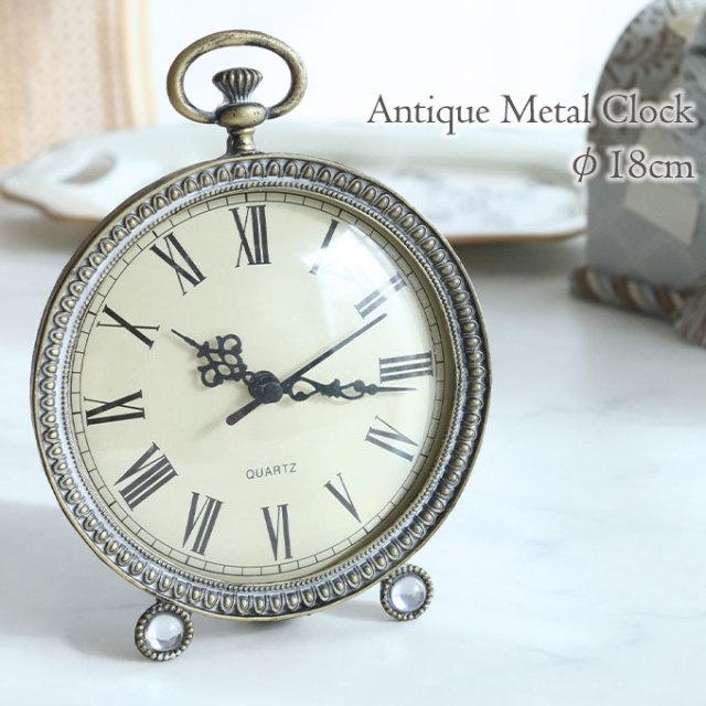 置時計,置き時計,置物,アンティーク,懐中時計風