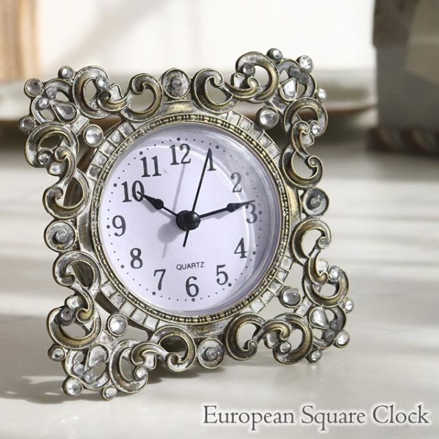 置時計,置き時計,置物,アンティーク,メタル