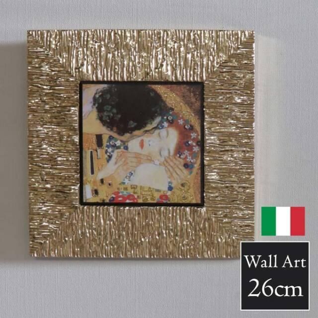 額絵,クリムト,接吻,イタリア,ウォールアート,おしゃれ,壁掛け,絵,モダン,ゴールド,TypeB