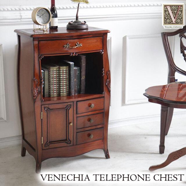 電話台,チェスト,収納,木製,アンティーク