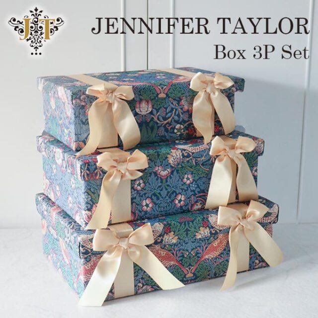 ジェニファーテイラー,BOX3Pセット,イチゴ泥棒