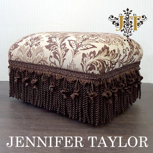 【送料無料】ジェニファーテイラー Jennifer Taylor フットスツール・Broderick