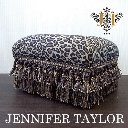 【P10倍】【送料無料】ジェニファーテイラー Jennifer Taylor フットスツール・Espresso