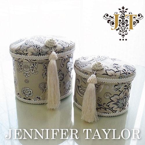 【送料無料】ジェニファーテイラー Jennifer Taylor オーバルBOX2Pセット・Helena