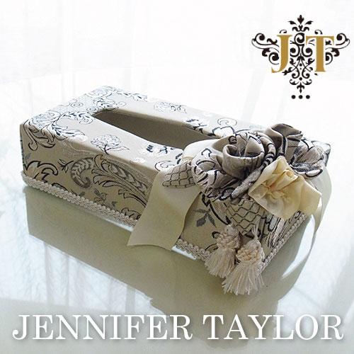 【送料無料】ジェニファーテイラー Jennifer Taylor ティッシュBOX・Helena