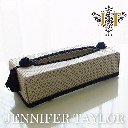 【P10倍 1/31 11:59まで】ジェニファーテイラー Jennifer Taylor ティッシュBOX・Givet
