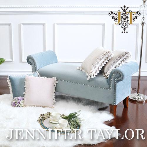 【P5倍】【送料無料】ジェニファーテイラー Jennifer Taylor ベンチ-Velours-LB