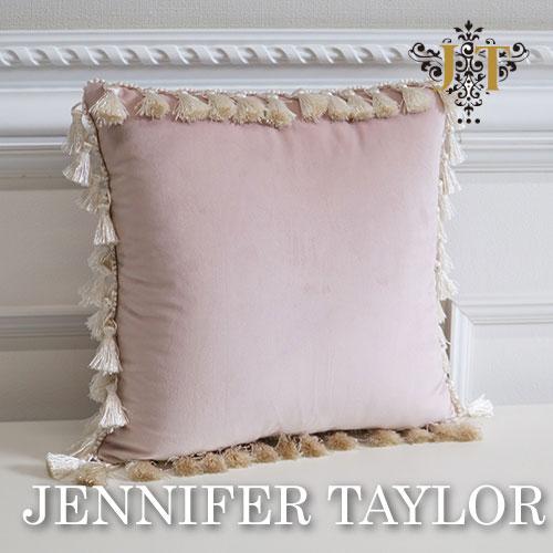 【ポイント2倍 6月】ジェニファーテイラー Jennifer Taylor クッション-Velours-PK