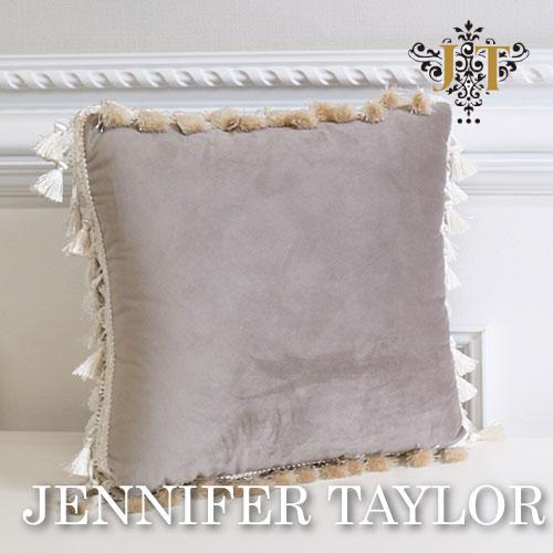 【ポイント2倍 6月】ジェニファーテイラー Jennifer Taylor クッション-Velours-GB