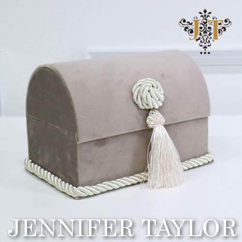 【ポイント10倍 9月】ジェニファーテイラー Jennifer Taylor トランクボックス-Velours-GB