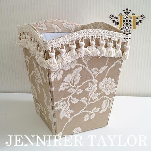 【8月限定 P10倍】ジェニファーテイラー Jennifer Taylor ダストボックス(波型)・Heirloom