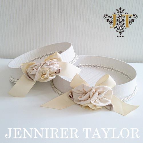 【P10倍】ジェニファーテイラー Jennifer Taylor トレイ2Pセット・Chinon(WH)