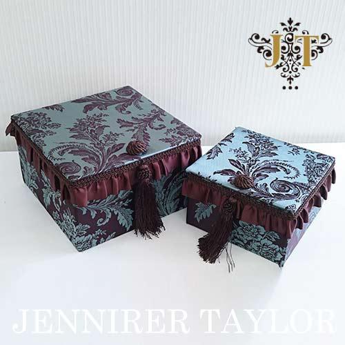 【8月限定 P10倍】ジェニファーテイラー Jennifer Taylor BOX2Pセット・Carlisle