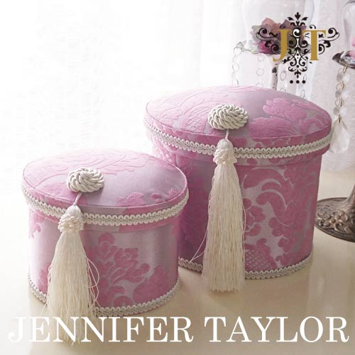 【送料無料】ジェニファーテイラー Jennifer Taylor オーバルBOX2Pセット・Lorraine-PK