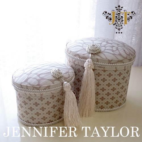 【送料無料】ジェニファーテイラー Jennifer Taylor オーバルBOX2Pセット・Lumina