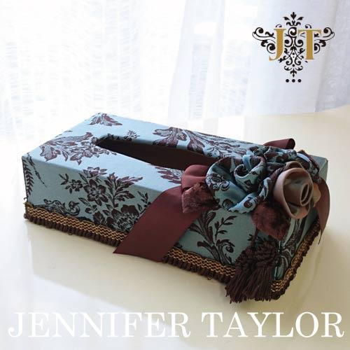 【P10倍 1/31 11:59まで】ジェニファーテイラー Jennifer Taylor ティッシュBOX・カルトナージュ(Carlisle)