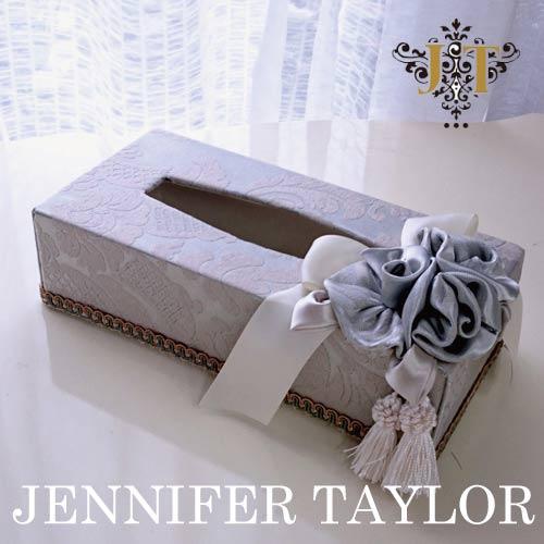 【送料無料】ジェニファーテイラー Jennifer Taylor ティッシュBOX・Lorraine-SL