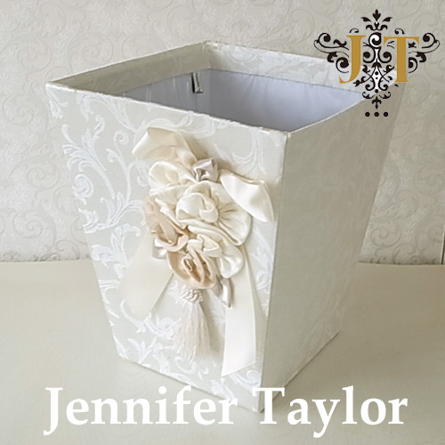 【ポイント10倍 9月】ジェニファーテイラー Jennifer Taylor ダストBOX・Florence(WH)